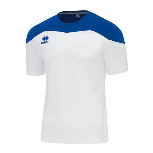 Maillot MC Errea Gareth Blanc/Royal