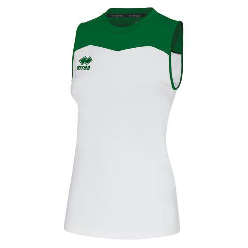 Maillot féminin Errea Glenda Blanc/Vert