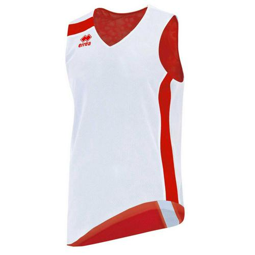 Maillot Reversible Errea Seattle Blanc/Rouge