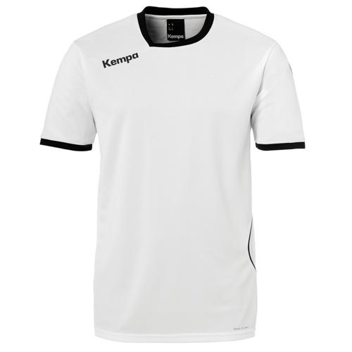 Maillot MC Kempa Curve Blanc/Noir