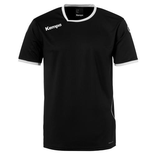 Maillot MC Kempa Curve Noir/Blanc