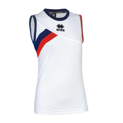 Maillot féminin Errea Fortune Blanc/Rouge