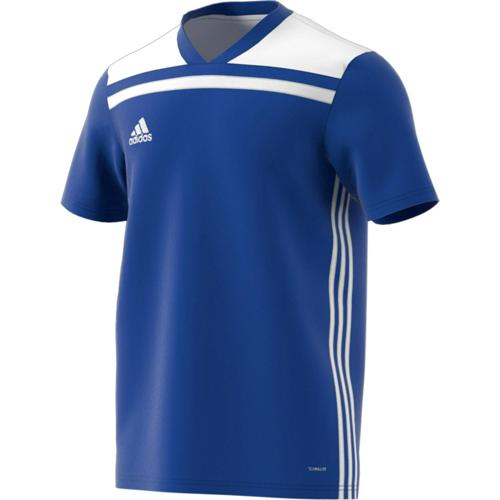 Maillot Regista 18 MC Enfant Royal/Blanc adidas