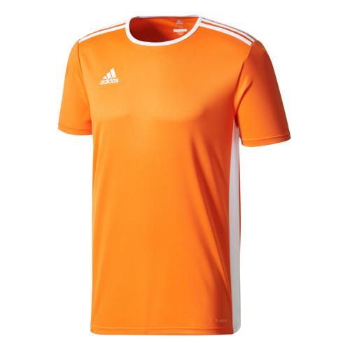 Maillot Entrada 18 MC Orange/Blanc adidas