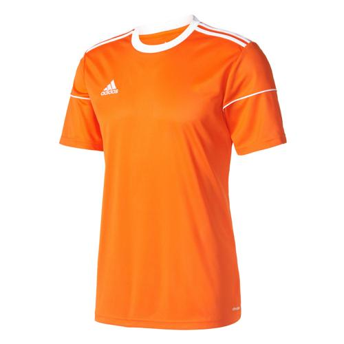 Maillot Squadra 17 MC Enfant Orange/Blanc adidas