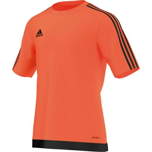 Maillot Estro 15 MC Enfant Orange/Noir adidas