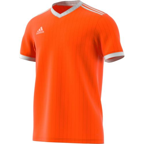 Maillot Tabela 18 MC Enfant Orange/Blanc adidas