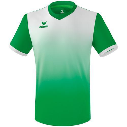 Maillot Leeds Erima MC Vert/Blanc