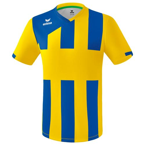 Maillot Siena Erima 3.0 MC Jaune/Royal