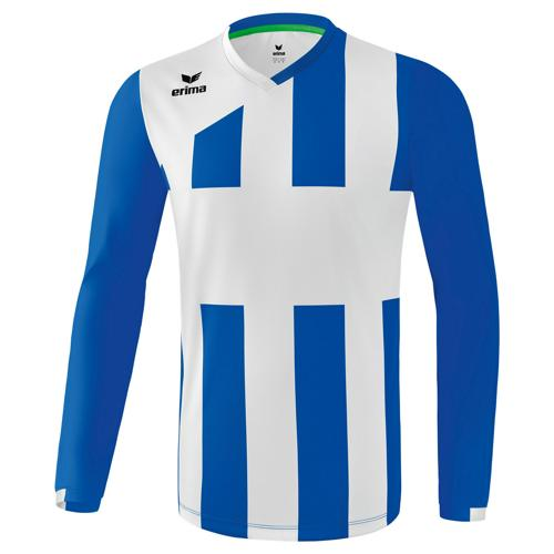 Maillot Siena Erima 3.0 ML Blanc/Royal