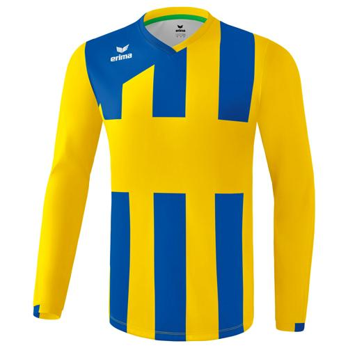 Maillot Siena Erima 3.0 ML Jaune/Royal