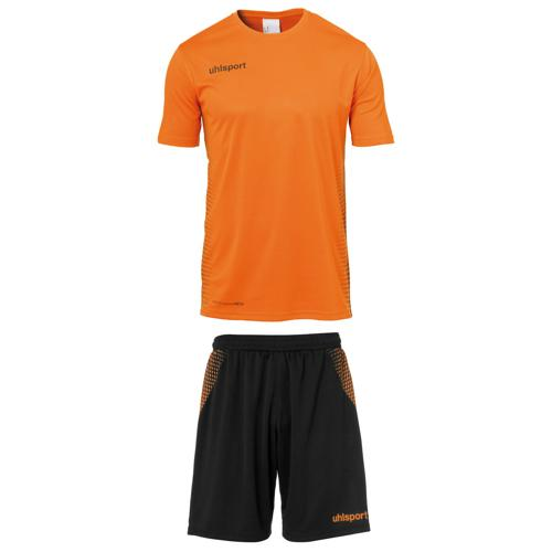 Set maillot/short Score MC Orange fluo/Noir Uhlsport