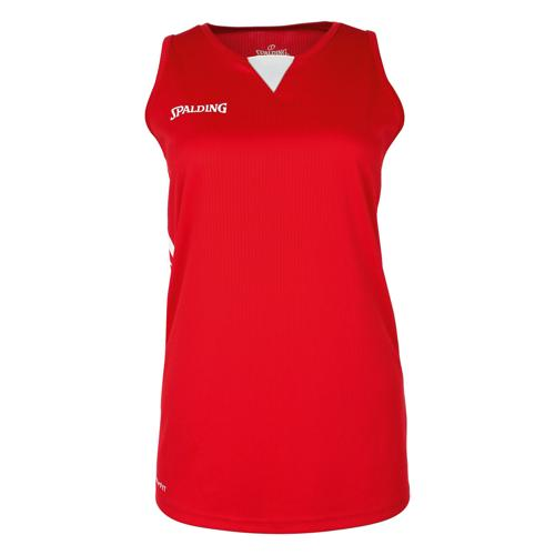 Maillot Féminin Spalding 4HER III Rouge