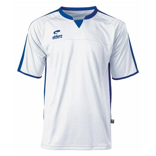 Maillot Decima Eldera MC Blanc/Royal