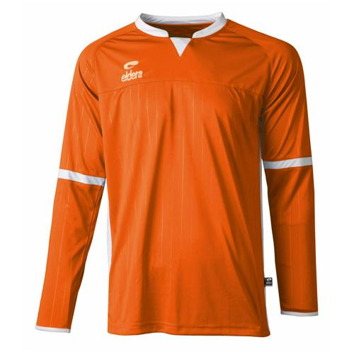 Maillot Decima Eldera ML Orange/Blanc