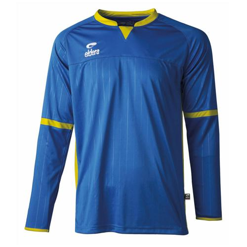 Maillot Decima Eldera ML Royal/Jaune