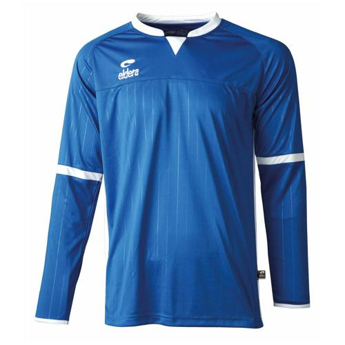 Maillot Decima Eldera ML Royal/Blanc