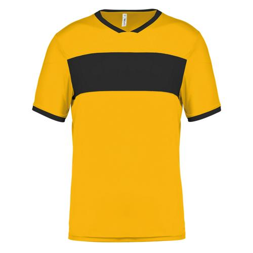 Maillot Now One Jaune/Noir