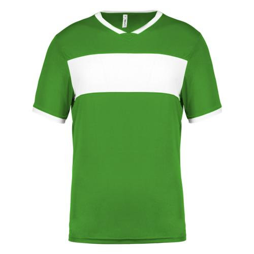 Maillot Now One Vert/Blanc