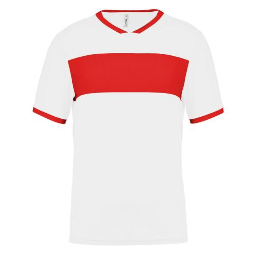 Maillot Now One Blanc/Rouge