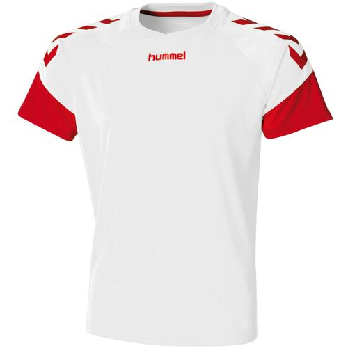 Maillot Hummel Chevrons Blanc/rouge