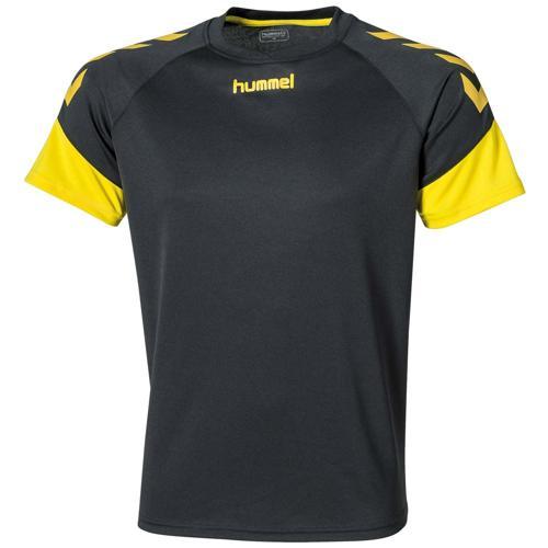 Maillot Hummel Chevrons Noir/jaune