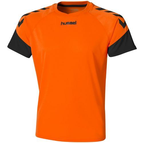 Maillot Hummel Chevrons Orange/noir