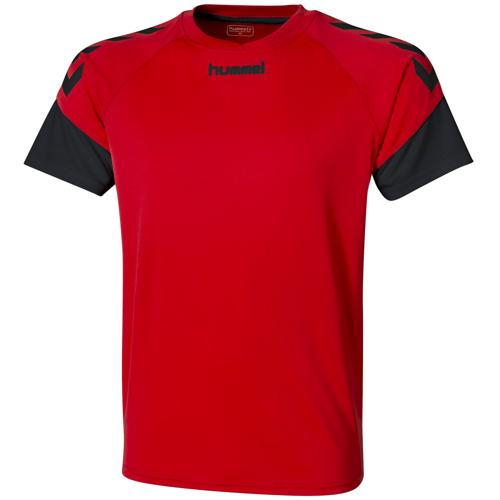 Maillot Hummel Chevrons Rouge/noir
