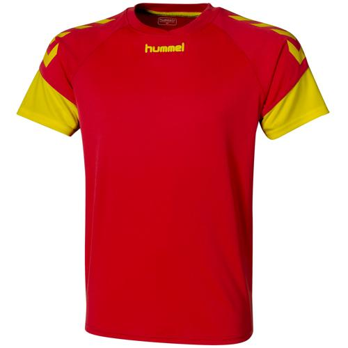 Maillot Hummel Chevrons Rouge/jaune