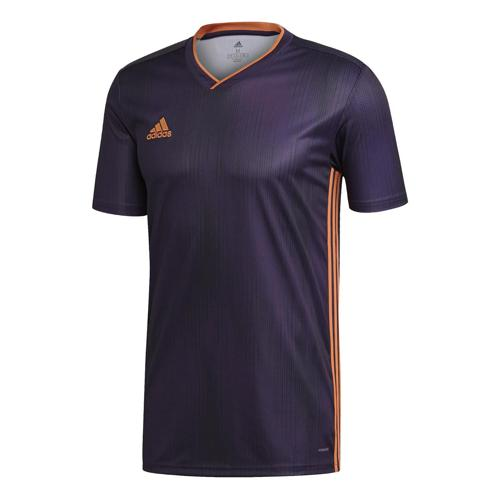 Maillot Tiro 19 MC violet/orange Enfant ADIDAS