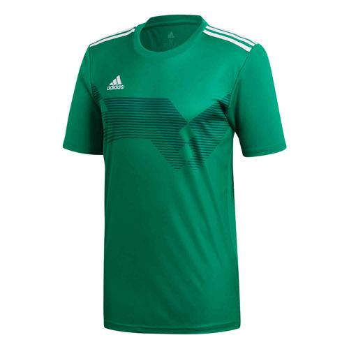 Maillot Campeon 19 MC Anthracite/blanc ADIDAS