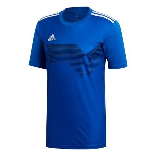 Maillot Campeon 19 MC royal/blanc Enfant ADIDAS
