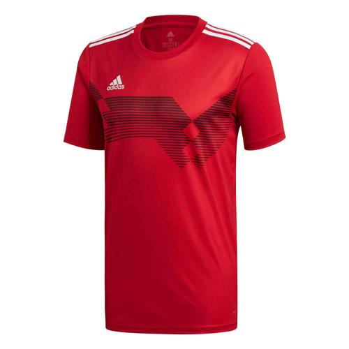 Maillot Campeon 19 MC rouge/blanc Enfant ADIDAS