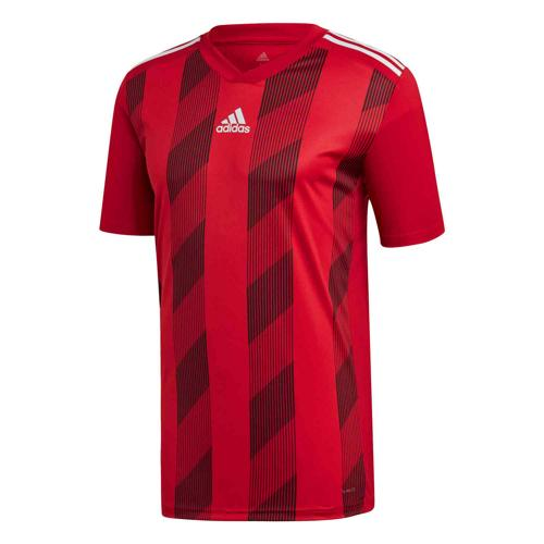 Maillot Striped 19 MC rouge/blanc ADIDAS