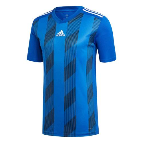 Maillot Striped 19 MC royal/blanc Enfant ADIDAS