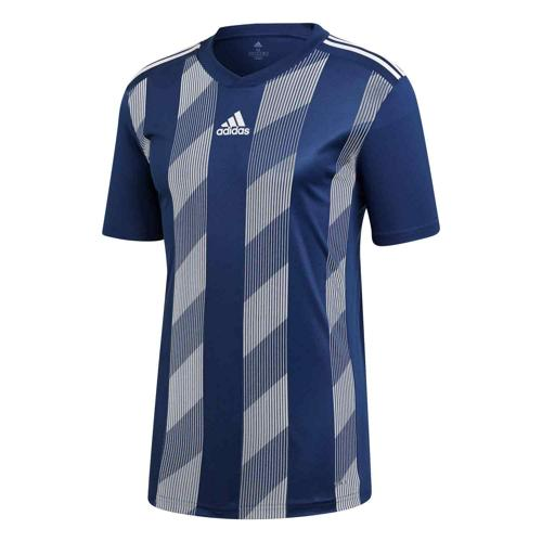 Maillot Striped 19 MC marine/blanc Enfant ADIDAS