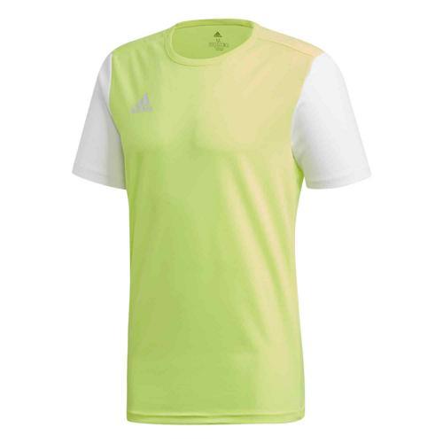 Maillot Estro 19 MC jaune/blanc ADIDAS