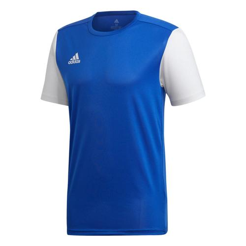 Maillot Estro 19 MC royal/blanc Enfant ADIDAS