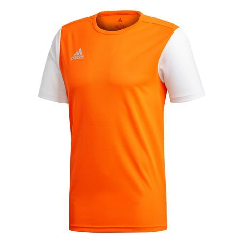 Maillot Estro 19 MC orange/blanc Enfant ADIDAS