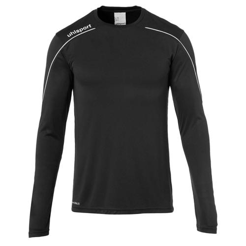Maillot ML Stream 22 Noir/Blanc UHLSPORT