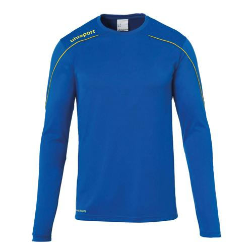 Maillot ML Stream 22 Azur/Jaune UHLSPORT