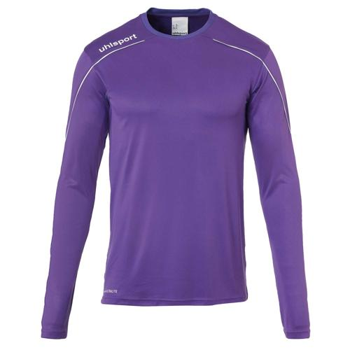 Maillot ML Stream 22 Violet/Blanc UHLSPORT