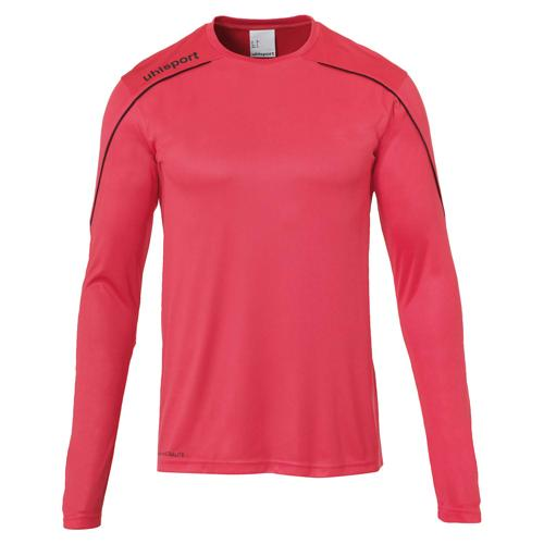 Maillot ML Stream 22 Rose/Noir UHLSPORT