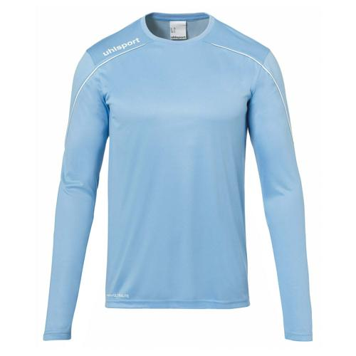 Maillot ML Stream 22 Ciel/Blanc UHLSPORT