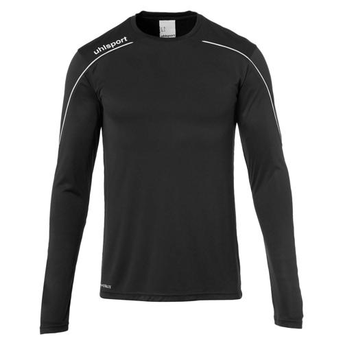Maillot ML Stream 22 Noir/Blanc enfant UHLSPORT