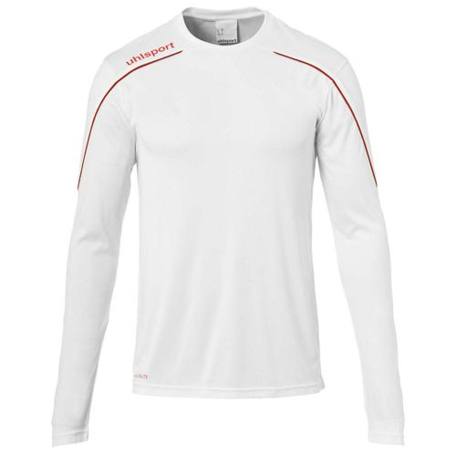 Maillot ML Stream 22 Blanc/Rouge enfant UHLSPORT