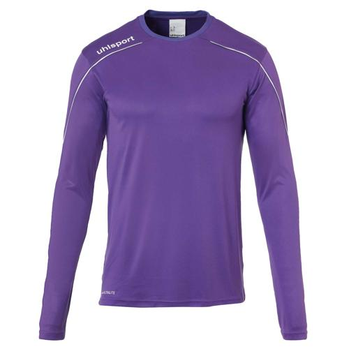 Maillot ML Stream 22 Violet/Blanc enfant UHLSPORT