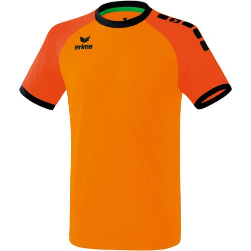 Maillot MC Zenari 3.0 Orange/Orange fluo ERIMA