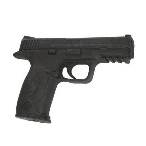 Pistolet Métal Boxe Caoutchouc 19 cm