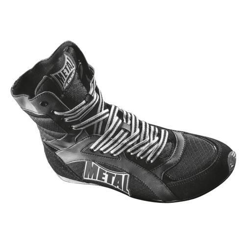 Chaussure Métal Boxe Haute Viper noire